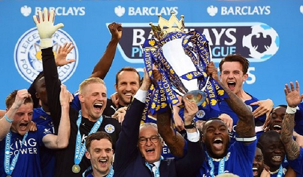 Лестер Сити, Ньюкасл, Уотфорд, Манчестер Сити, Манчестер Юнайтед, Тоттенхэм, Арсенал, Норвич, Сандерленд, Саутгемптон, Челси, Ливерпуль, Бормут, Вест Хэм, Суонси, Эвертон, Вест Бромвич, Кристал Пэлас, Астон Вилла, Сток Сити, АПЛ, лидер АПЛ